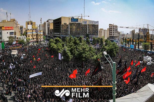 میثاق عزاداران تهرانی با رهبرمعظم انقلاب به سبک سیدحسن نصرالله