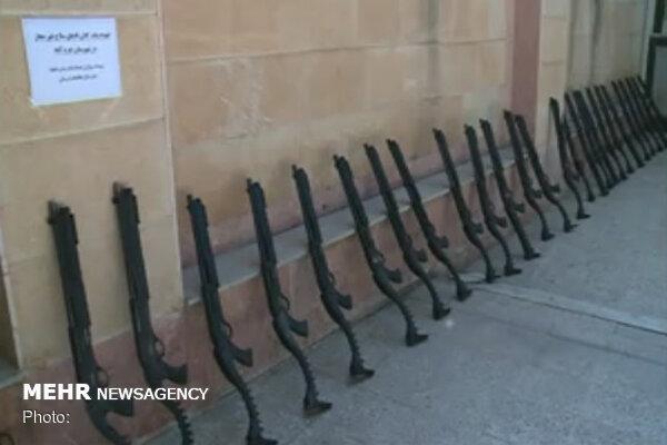 انهدام باندهای بزرگ تهیه و توزیع سلاح و مواد مخدر در لرستان