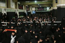مراسم عزاداری امام سجاد (ع) در حسینیه امام خمینی(ره)