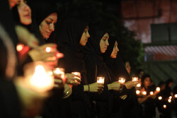 خواتین کی انجمن بیت الزہرا (س) میں عزاداری کا سلسلہ