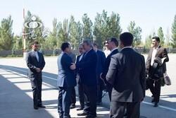 وزیر کشور وارد بیشکک قرقیزستان شد