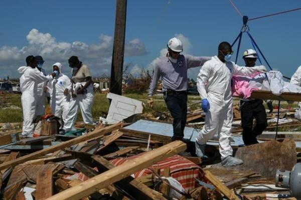 شمار مفقودشدگانِ طوفان دوریان در باهاما به ۲۵۰۰ تن رسید