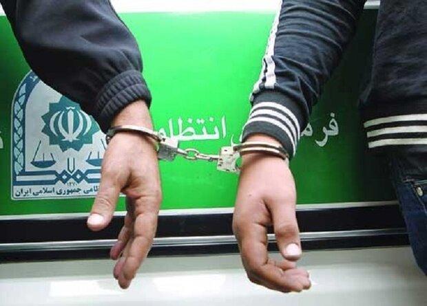 دستگیری ۲ سارق منزل و کشف ۱۰ فقره سرقت در همدان