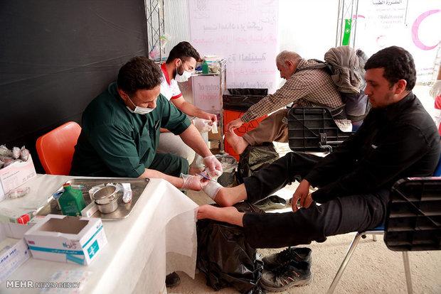 راهاندازی مرکز خدمات جامع سلامت «راه کربلا» در مرز خسروی