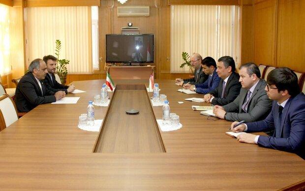 Iranian envoy calls for increasing volume of bilateral trade with Tajikistan