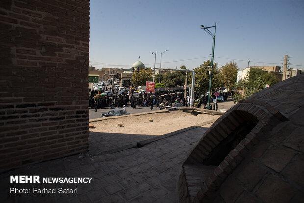 کاروان نمادین بنی اسد در قزوین