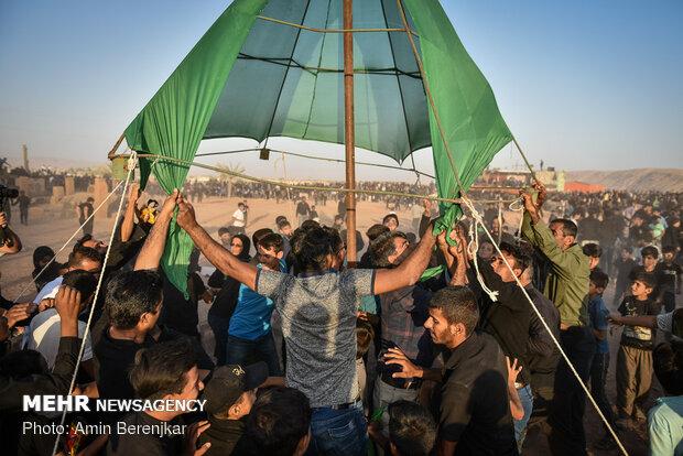 Iran's largest field 'passion play' in Sahra Rud, Fars prov.
