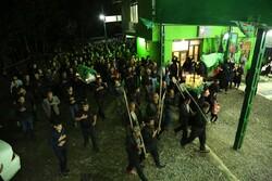 کاروان نمادین قوم بنی اسد در « سرخ دشت»