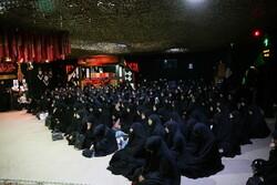 مدافع حرم شہداء کی ہمسروں کا اجلاس
