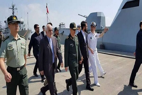 Iranian military chief visits Chinese Naval Base Shanghai