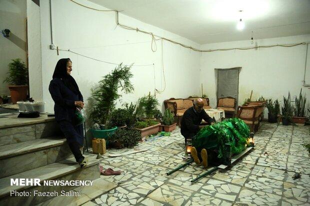 کاروان نمادین قوم بنی اسد در سرخ دشت بهنمیر