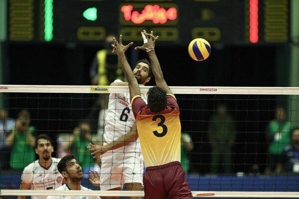 VIDEO: Highlights of Iran vs Sri Lanka at Asian Volleyball C'ship
