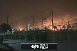 VIDEO: Fire at Saudi Arabia's oil facilities after drone attack