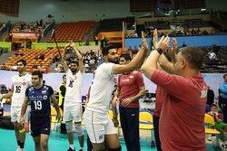 Iran trounces Qatar 3-0 at Asian Volleyball C'ship