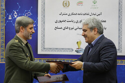 نتطلع الى تطوير الشركات المعرفية وتوظيفها من أجل تعزيز البنية الدفاعية لإيران