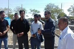 بازدید و بررسی مستمر از پروژه های عمرانی در حال اجرا در پاکدشت