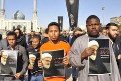 پیکر علامه شیخ حسین کورانی در قم تشییع شد