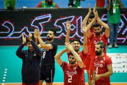 فوز إيران على قطر في بطولة آسيا لكرة الطائرة