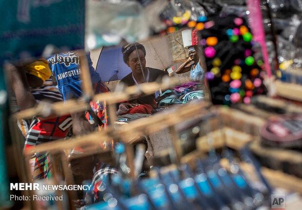 Zimbabve'nin başkenti Hahare'den fotoğraflar