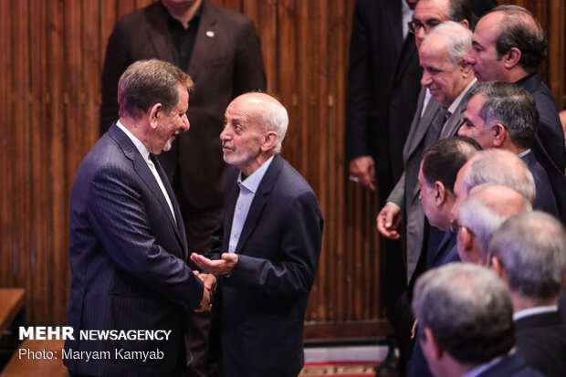 Farewell, introduction ceremony of Iranian education minister