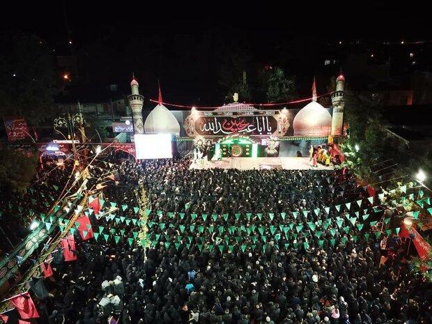 افزایش ۲ برابری شمار توریستهای مذهبی شهر مریانج