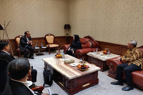 Indonesian health min. visits Iran