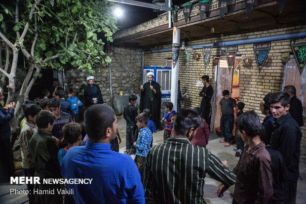 برگزاری جلسه عزاداری سیدالشهدا(ع) در مسجد روستای لَلَر