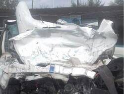 تصادف خودروی سمند با وانت بار ۲ کشته و ۲ مجروح برجای گذاشت