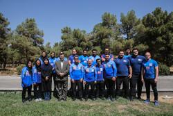 نشست خبری سرمربیان تیم های ملی آقایان و بانوان وزنه برداری ایران