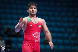Abdevali collects Iran's first medal in 2019 World Wrestling C'ships