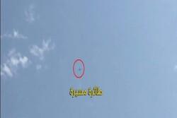 پرواز پهپاد بر فراز مواضع حشد شعبی در استان صلاح الدین عراق