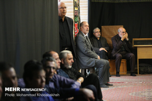 Commemoration ceremony of Habibollah Asgaroladi