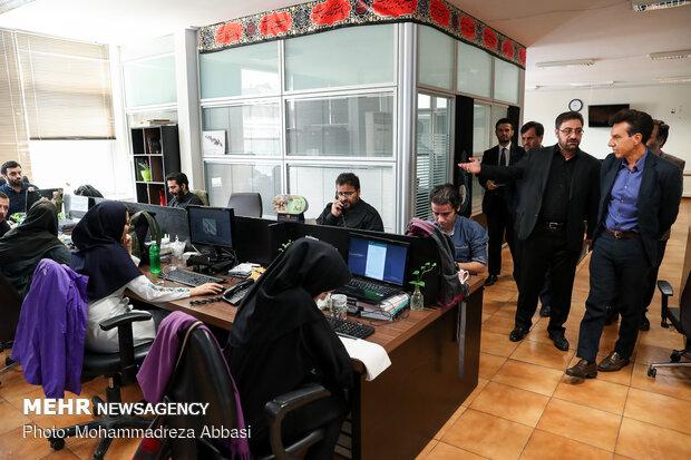 Italian amb. visits Mehr News HQ