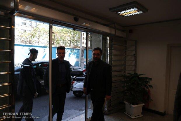 Italian envoy visits Tehran Times, Mehr headquarters