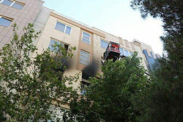 آتشسوزی منزل پنج طبقه در بلوار هفت تیر مشهد تلفات جانی نداشت