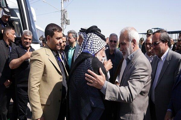 میهمانان عراقی همایش موکبداران اربعین حسینی وارد مشهد شدند
