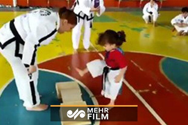 حرکات جالب کاراتهکای کوچک