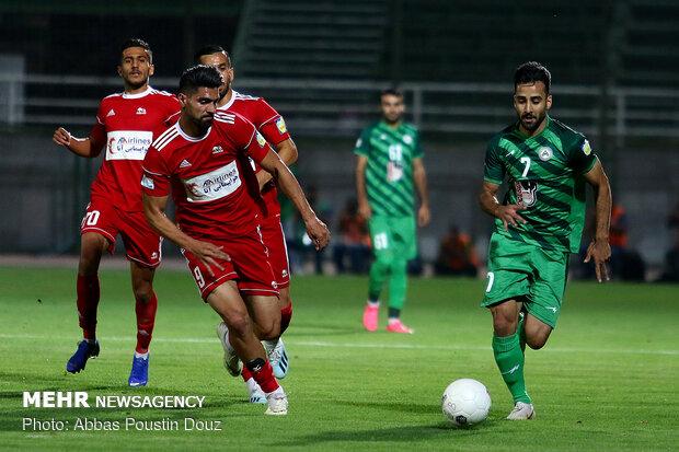 Traktörsazi-Zob Ahan maçı golsüz bitti