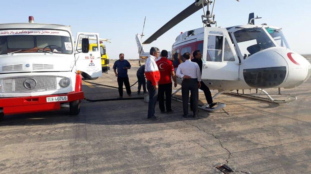 اولین مانور امداد هوایی کلان شهر تهران برگزارشد