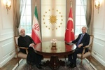 Rouhani, Erdogan meet in Ankara ahead of trilateral summit