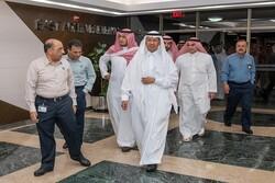 انتشار تصاویر حضور وزیر انرژی عربستان در پالایشگاه «بقیق»