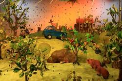 نمایشگاه اوریگامی با موضوع حفاظت از طبیعت و حیات وحش