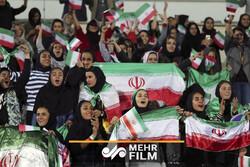 ربیعی: در بازی ایران با کامبوج زنان در ورزشگاه حضور خواهند داشت