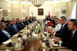 Iranian, Turkish high-ranking officials hold joint meeting in Ankara