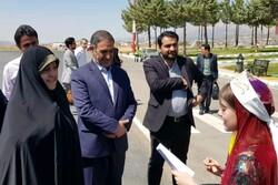 معاون رئیس جمهور وارد یاسوج شد/ تجدید میثاق با آرمان های شهدا