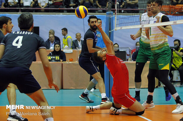 Iran vs Australia at 2019 Asian Volleyball C'ship