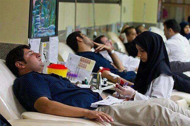 تامین خون مورد نیاز مصدومان حادثه قطار