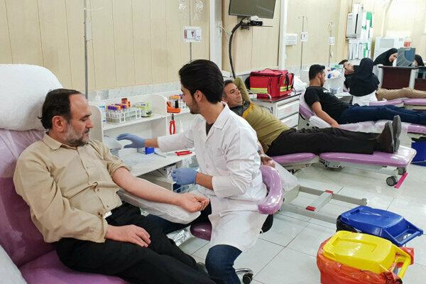 سه مرکز اهدای خون در اربعین حسینی فعال هستند