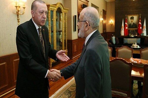 Karamollaoğlu Erdoğan'a Beşar Esad ile görüşmesini tavsiye etti