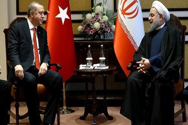 Cumhurbaşkanı Ruhani Ankara'da Erdoğan ile görüştü
